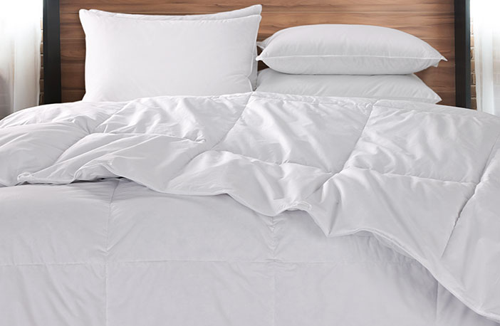 Down Duvet Comforter Exclusive Bedding Linenore From