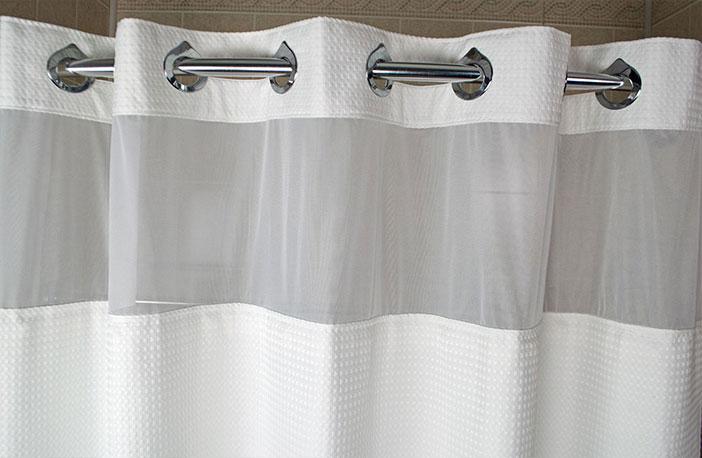 Basketweave Shower Curtain Buy Exclusive Courtyard Hotel