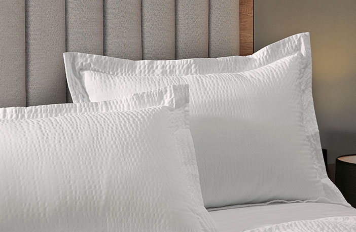 Textured Pillow Sham Shop Decorative Linens And More From Shop Courtyard