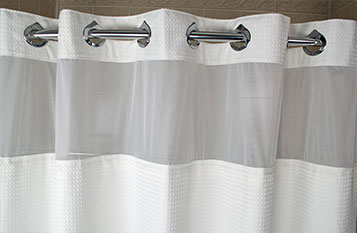 Basketweave Shower Curtain